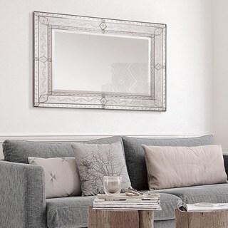 Ren Wil Gianna Etched Venetian Mirror