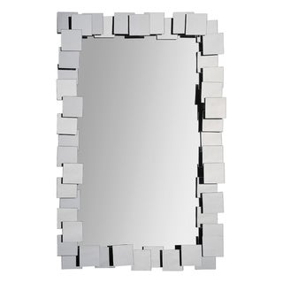 Ren Wil Whitley Stacked Glass-framed Mirror