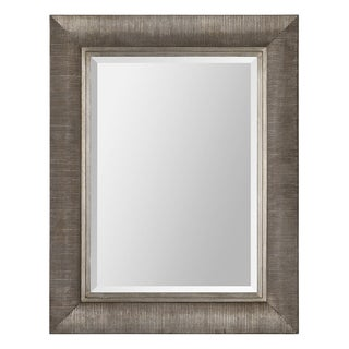 Ren Wil Taylor Ribbed Wood-framed Mirror