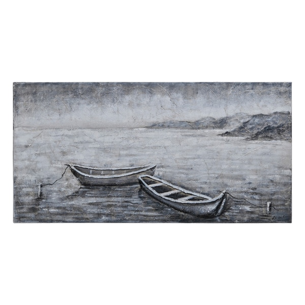 Lecavalier 'Still Waters' Hand Painted Canvas