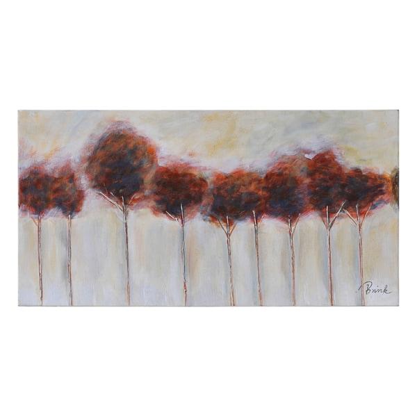 Catherine Brink 'Fall Splendor' Hand Painted Canvas