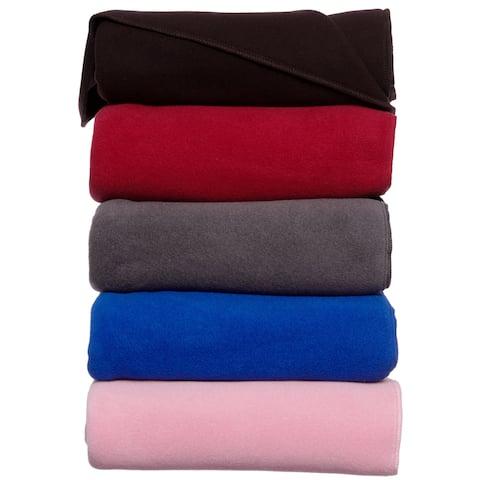 Kenyon Polartec Fleece Indoor/ Outdoor 34 x 36-inch Lap Blanket