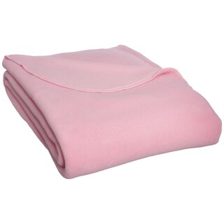 Kenyon Polartec Fleece Indoor/ Outdoor 34 x 36-inch Lap Blanket (Option: Pink)