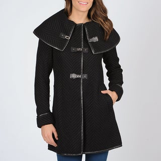 Ivanka Trump Women's Knit Toggle Coat
