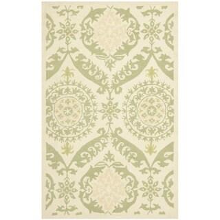 Safavieh Hand-hooked Chelsea Heritage Beige Wool Rug (2'6 x 4')