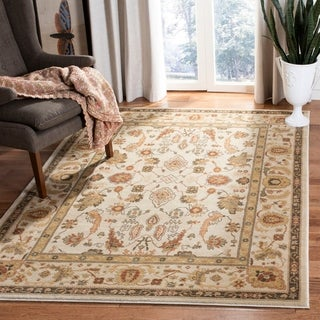 Safavieh Oushak Cream/ Green Rug