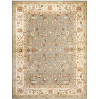 Safavieh Oushak Heirloom Traditional Green/ Cream Rug