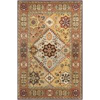 Safavieh Handmade Persian Legend Multi/ Rust Wool Rug