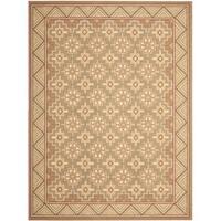 """Safavieh Hand-hooked Maze Beige Wool Rug - 8'9"""" x 11'9"""""""
