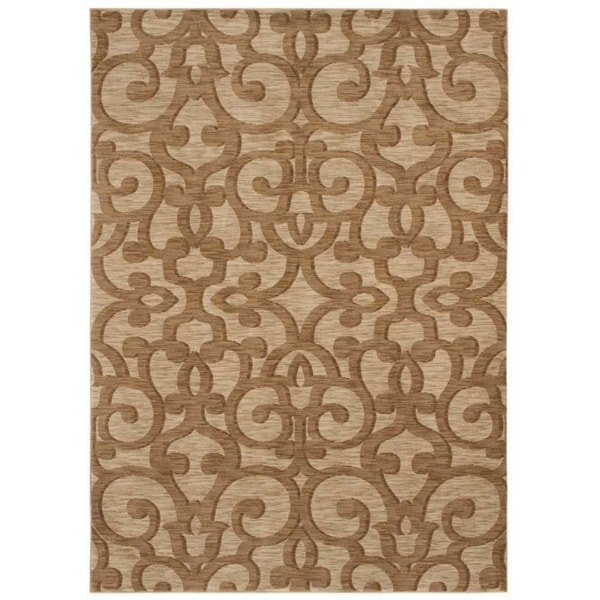 Tommy Bahama Island Lattice Beige Rug (3'6 x 5')