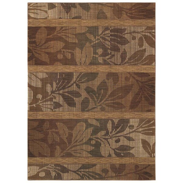 "Tommy Bahama Home Rugs Light Multicolored South Seas Silhouette Transitional Runner Rug (2'6"" x 7'9"")"