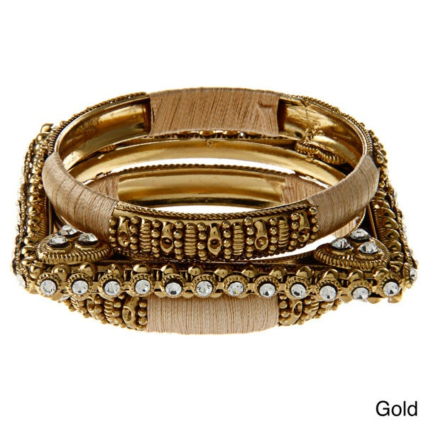 Amrita Signh CZ Sonali Bangle Bracelet Set