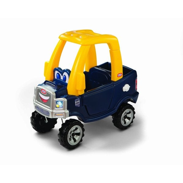 Little Tikes Cozy Yellow/Blue Plastic Truck