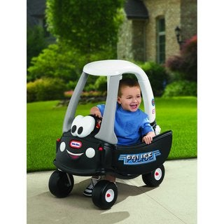 Little Tikes Patrol Police Car Cozy Coupe Toy