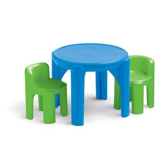 Little Tikes Bright 'n Bold Table & Chairs - Blue