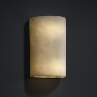 Justice Design Group Clouds 2-light Small (No Metal) Wall Sconce