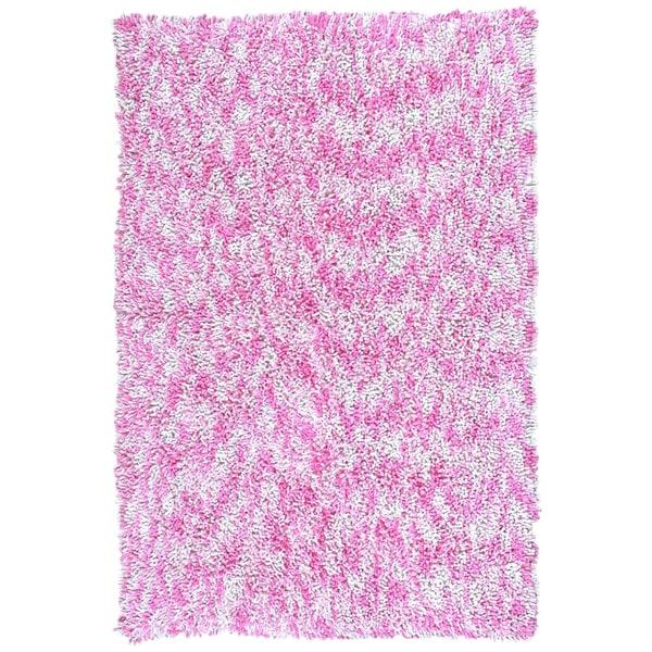 Shagadelic Pink Chenille Twist Swirl (30x50)