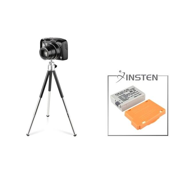 INSTEN Battery/ Mini Tripod for Canon LP-E8/ 550D/ 600D/ T2i/ T3i