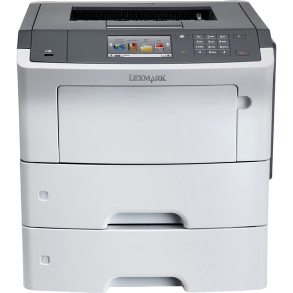 Lexmark MS610DTN Laser Printer - Monochrome - 1200 x 1200 dpi Print -