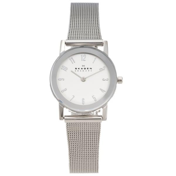 Skagen Women's Stainless Steel Mesh Strap Watch