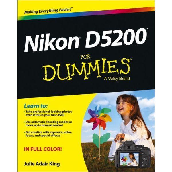Nikon D5200 for Dummies (Paperback)
