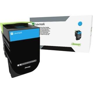 Lexmark Unison 800S2 Toner Cartridge - Cyan