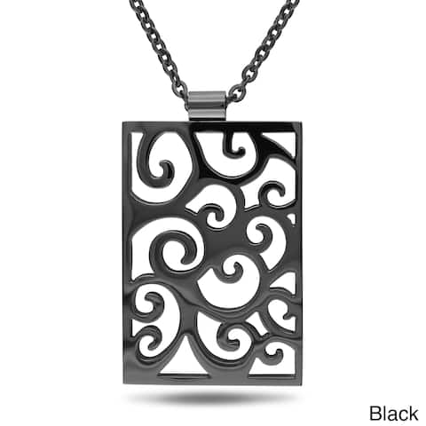 Miadora Plated Stainless Steel Necklace