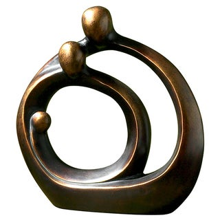 Uttermost Family Circles Resin Sculpture