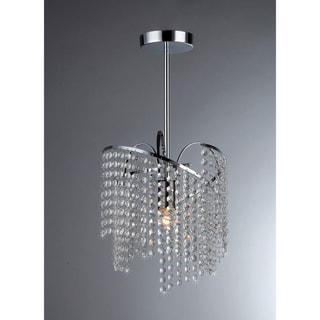 Ann 1-light Crystal Chandelier