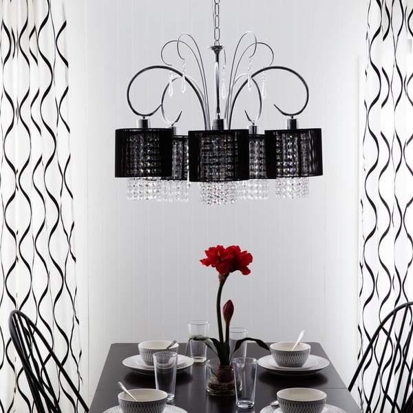 Celeste Crystal 5-light Chandelier