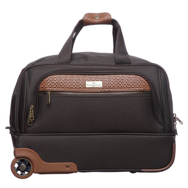 Tommy Bahama Retreat 19-inch Wheeled Carry-on Duffel Bag - Free ...