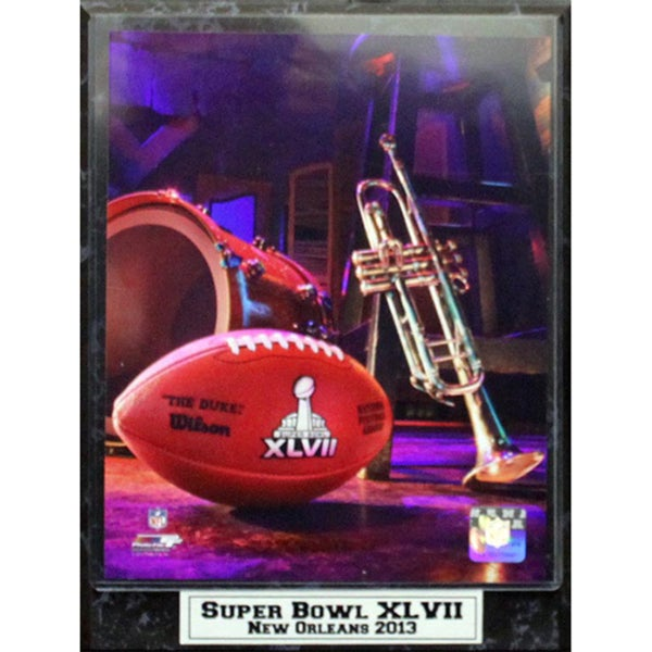 Super Bowl XLVII in New Orleans Photo Plaque (9 x 12)