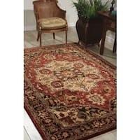 Nourison Hand Tufted Jaipur Red Rug