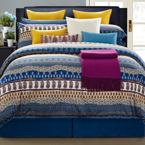 EverRouge Aladdin Cotton 8-piece Comforter Set