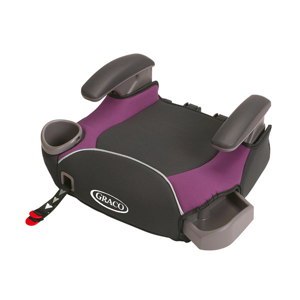 Graco AFFIX Purple No-Back Booster Seat with Latch System