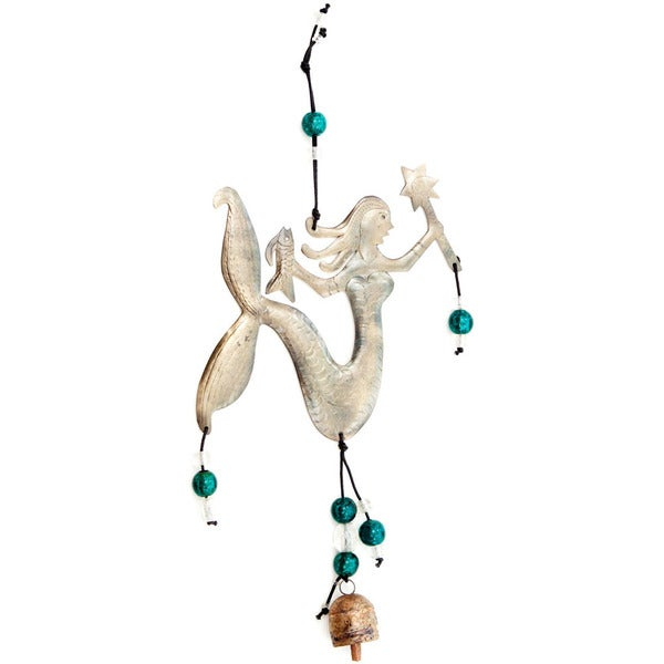 Handmade Tail of a Mermaid Wind Chime (India)