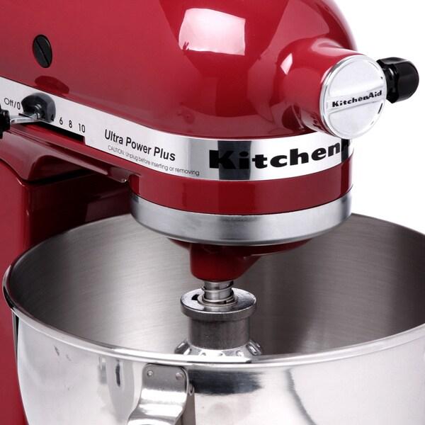 KitchenAid Ultra Power Plus 300W 4 5 Quart 10 Speed Mixer Empire Red