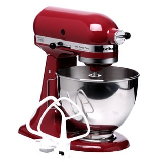 KitchenAid KSM100PSER Empire Red 4.5-quart UltraPower Plus Stand Mixer