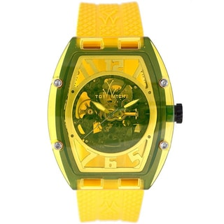 Toy Unisex Naked Yellow Stainless Steel Watch
