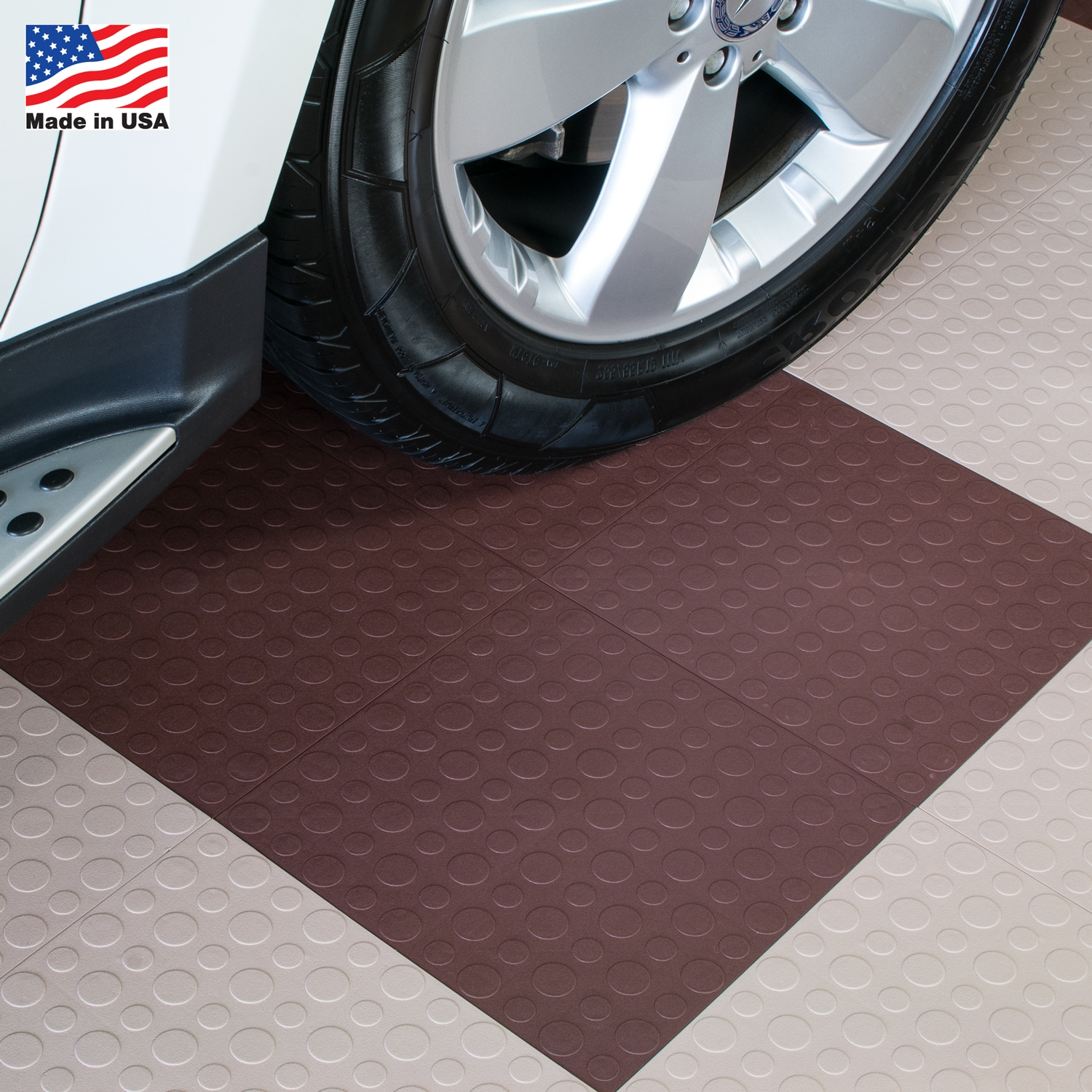 Blocktile Garage Flooring