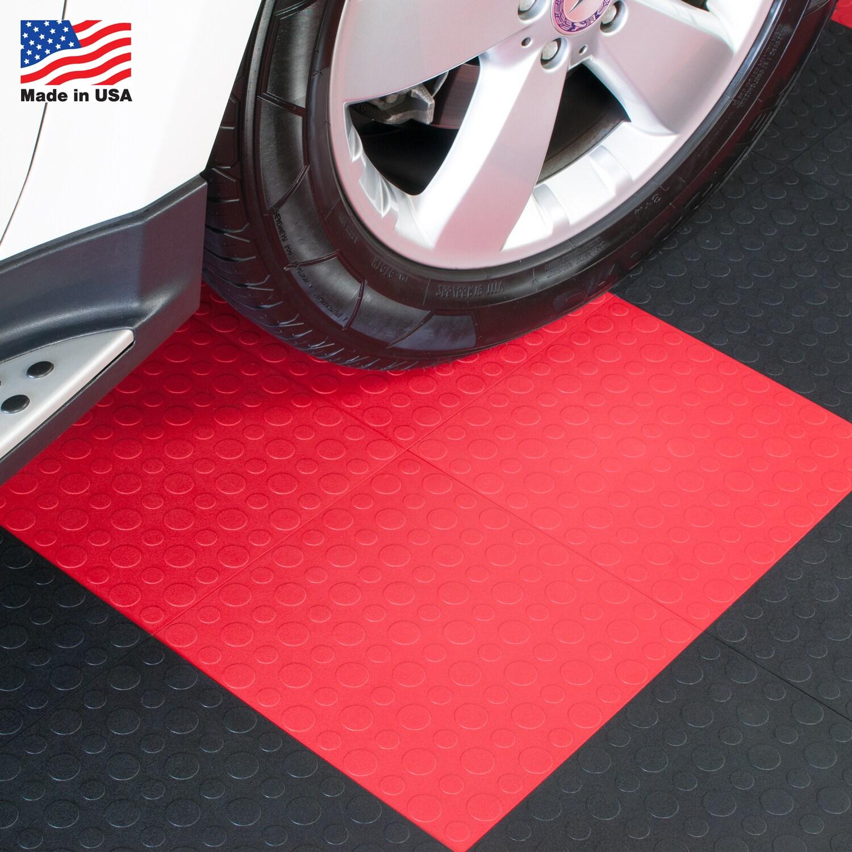 Elida BlockTile Garage Flooring Interlocking Coin Top Til...