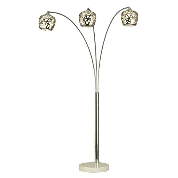 birds nest arc floor lamp free shipping today. Black Bedroom Furniture Sets. Home Design Ideas