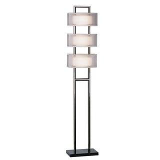 'Amarillo' Silver Accent Floor Lamp
