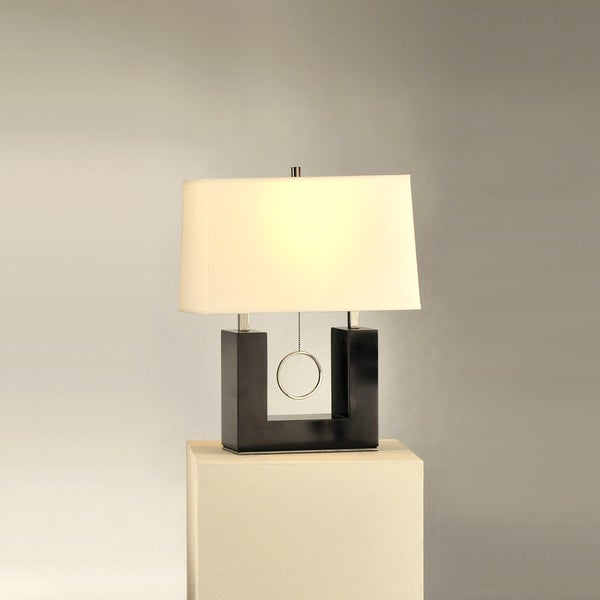 """Earring"" Contemporary Reclining Table Lamp"
