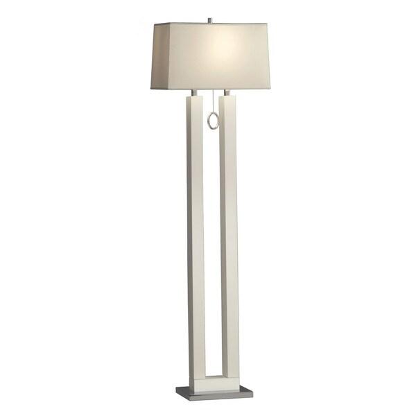 Earring White Floor Lamp