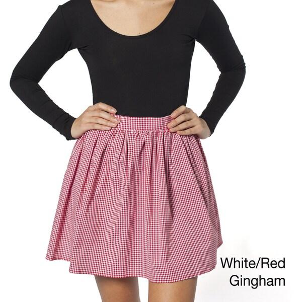 American Apparel Women's Full Woven Skirt