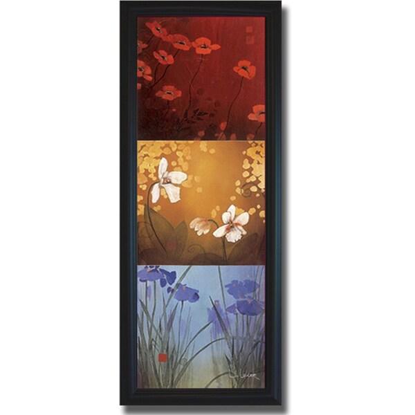 Don Li-Leger 'Aura' Framed Canvas Art