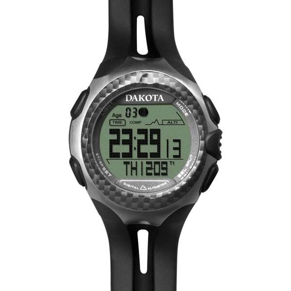 Dakota Men's Plastic Digital 4 Sensor Watch