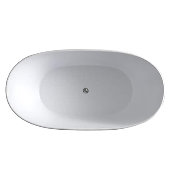 Aquatica PureScape 748M Freestanding Solid Surface Bathtub