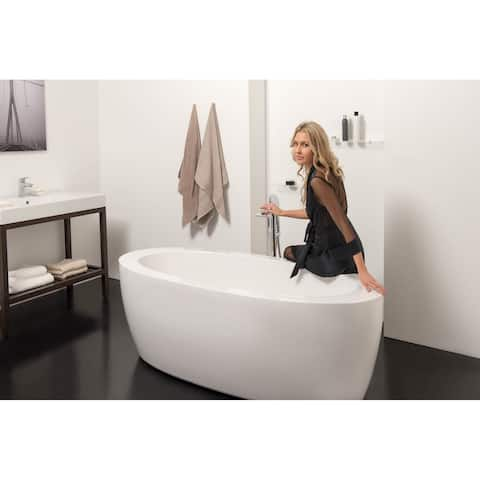 Aquatica PureScape 174B-Wht Freestanding Acrylic Bathtub